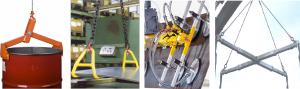 Løfteværktøj – løfteklør, tromleløftere, vacuumåg, pladeløftere, helikoperåg, m.m